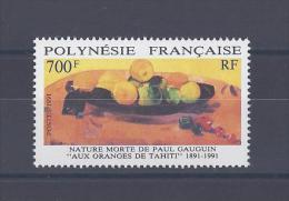 POLYNESIE. Centenaire De L'arrivée De Paul Gauguin à Tahiti. Nature Morte - Unused Stamps
