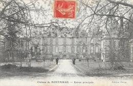 Château De Montmirail - Entrée Principale - Edition Prieur - Montmirail