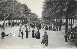Orléans - Le Mail Et Le Kiosque - Edition ND Phot. - Orleans