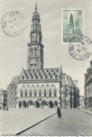 ARRAS (Yvert N° 567) Carte Maximum / 1942 - 1940-49