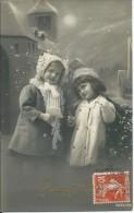 Enfants Sous La Neige - Bonne Fête - Abbildungen