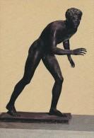 Statue Of Fighter.  -  Bronze Of Ercolano.     # 04361 - Articles Of Virtu
