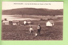 PONTARLIER - Le LAC De Saint Point De Chaon à Port Titi - Animée - TBE  - Edit. Faivre Locca - 2 Scans - Pontarlier