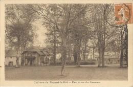 CHATEAU DE NOGENT LE ROI  Parc Et Vue Des Communs - Nogent Le Roi