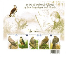 Vogels. 25 Jaar Hoogvliegers In De Filatelie.  Les Oiseaux D´André Buzin. - Belgique