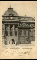 100152 Sc 109 LIBERTY 1c POST CARD PARIS-PALAIS DE JUSTICE ENTREE PRINCIALE PARIS 50//R,ST DENIS>NAMUR(STN)//03-B.F.&CIE - France