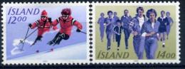 ISLANDE 1983 YVERT N° 556/57 LUXE **MNH - 1944-... Republic