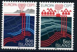 EUROPA CEPT ISLANDE 1983 - N° 551/52 NEUF LUXE ** MNH COTE 25E - Europa-CEPT
