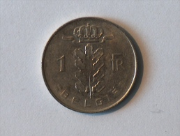 Belgique 1 Franc Belgie 1977 - 1951-1993: Baudouin I