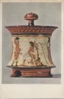 Athenian Pyxis - Scene From The Judgement Of Paris About 465-460 BC - The Metropolitan Museum Of Art - Kunstvoorwerpen