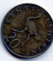 Tanzania 20 Shillingi 1975 - Tanzanie