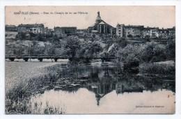 Marville, Pont Du Chemin De Fer Sur L'Othain, 1921, éd. Richard Et Diederich (Meuse, 55) - Frankreich