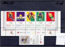 RSA, Olympic Games Atalanta 1996, MNH, C0151 - Summer 1996: Atlanta
