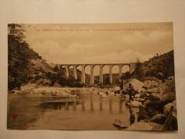 Carte Postale - Viaduc De DUZON (07) -  (186/100) - Francia