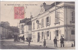 Maisons Alfort, La Poste Grande Rue N° 15 - Maisons Alfort