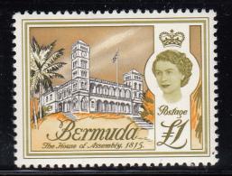 Bermuda MNH Scott #191 1pd The House Of Assembly, 1815 - Bermudes