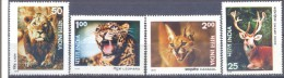 1976. India, Animals Of India, 4v, Mint/**
