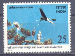 1976. India, Bird, 1v, Mint/**