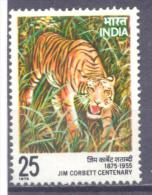 1976. India, Tiger, 1v, Mint/**