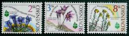 ANNEE EUROPENNE DE LA PROTECTION DE LA NATURE 1995 - NEUFS ** - YT 181/83 - MI 217/19 - Slovaquie