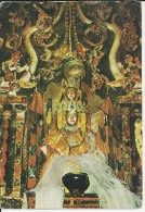 Ladakh Avolokiteshwara Statue In Alchi Gompa  (1980) ( 2 Scans ) - Inde
