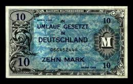 10 MARK - ( Art. N° 529 ) - [ 5] Ocupación De Los Aliados