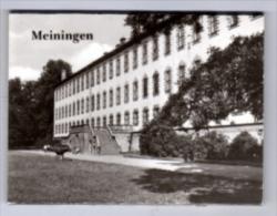 Meiningen - S/w Leporello + 7 Kleinbildfotos - Meiningen