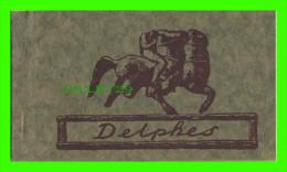 DELPHES, GRÈCE - FOLDER, CARNET SOUVENIR DE DELPHES - 10 CARTES - ÉDITIONS D'ART KOGEVINAS - - Grèce