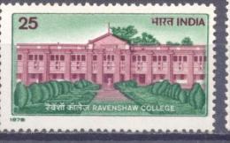 1978. India, Ravechau College, 1v, Mint/**