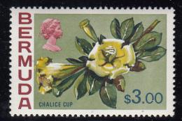 Bermuda MNH Scott #271 $3.00 Chalice Cup - Flowers - Bermudes