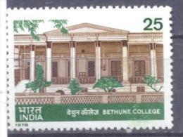 1978. India, Bethune College, 1v, Mint/**