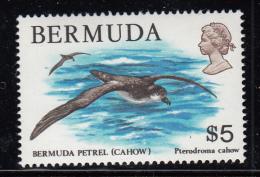 Bermuda MNH Scott #379 $5.00 Bermuda Petrel (Cahow) - Bermudes