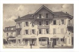 St-Cergue  Hôtel De La Poste Et Bon Accueil - VD Vaud