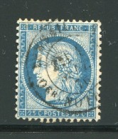 FRANCE- Y&T N°60C- Cachet à Date - 1871-1875 Ceres