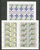 MAROC LES TROIS FEUILLES  N� 480 / 482 EN PAIRE TETE-BECHE NEUF** LUXE