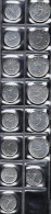 FRANCE 1961-1970 Epi Acier Inox 1c 5c Lot De 15 Pièces De Monnaie / Coin / Münze [J05a] - France