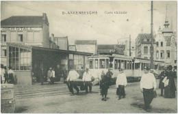Blankenberge - Tramstation - Animée - Gare Vicinale - Tram Station - Straßenbahnhaltestelle. - Tramways