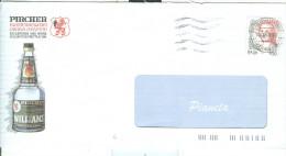 PIRCHER, LANA,BOLZANO, BUSTA COMMERCIALE CON LOGO, VIAGGIATA  1999, TIMBRO POSTE LANA D'ADIGE, - Alcoolici
