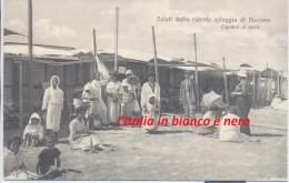Riccione Rimini Saluti Dalla Ridente Spiaggia Di Riccione Capanni Al Mare - Rimini