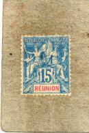 """REUNION : Allégorie, Avec """"REUNION"""" En Rouge  Dans Le Cartouche - - Usados"""