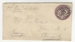 USA Ganzsache 1894 gebraucht