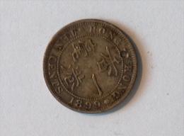 HONG KONG 10 Cents 1899 - Hong Kong
