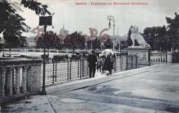 (GE) Genève - Esplanade Du Monument Brunswick - Trés Bon état - 2 SCANS - GE Ginevra