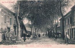 FRANCE C.P.A  81  TARN  SOUAL  Avenue De Labruguiere   (en L´état) - France