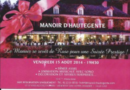 124 - Manoir D´HAUTEGENTE - Hôtel-Restaurant - 24 COLY - Restaurants