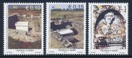 """REPUBLIC OF KOSOVO 2011, """"From Archaeology-Ancient Ulpiana"""", Set Of 3v** - Kosovo"""