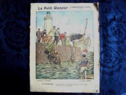 Cahier D'écolier 1925 Illustration Le Scaphandre Le Petit Claneur - Old Paper