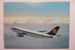 "(6/2/35) AK ""Airbus"" Lufthansa A 300 - 1946-....: Moderne"