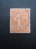 FRANCE Type Semeuse Lignée N°204 Oblitéré - 1903-60 Säerin, Untergrund Schraffiert