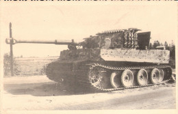 PHOTO PROPAGANDE GUERRE ARCHIVE SOVIETIQUE #25  WEHRMACHT PANZER PANTHER ?? TIGRE ?? - 1939-45